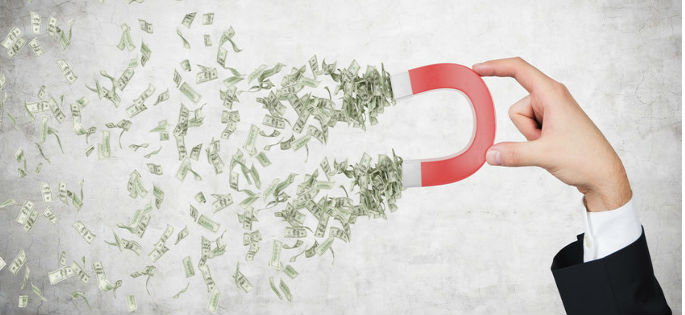 What are retained earnings? Magnet pulling in cash