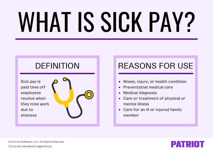 what is sick pay definition and reasons for use