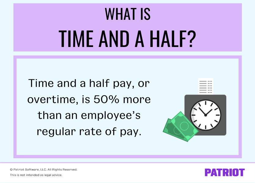 what is time and a half for employers