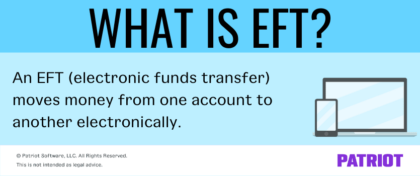 definition of EFT payments with computer and cell phone graphics