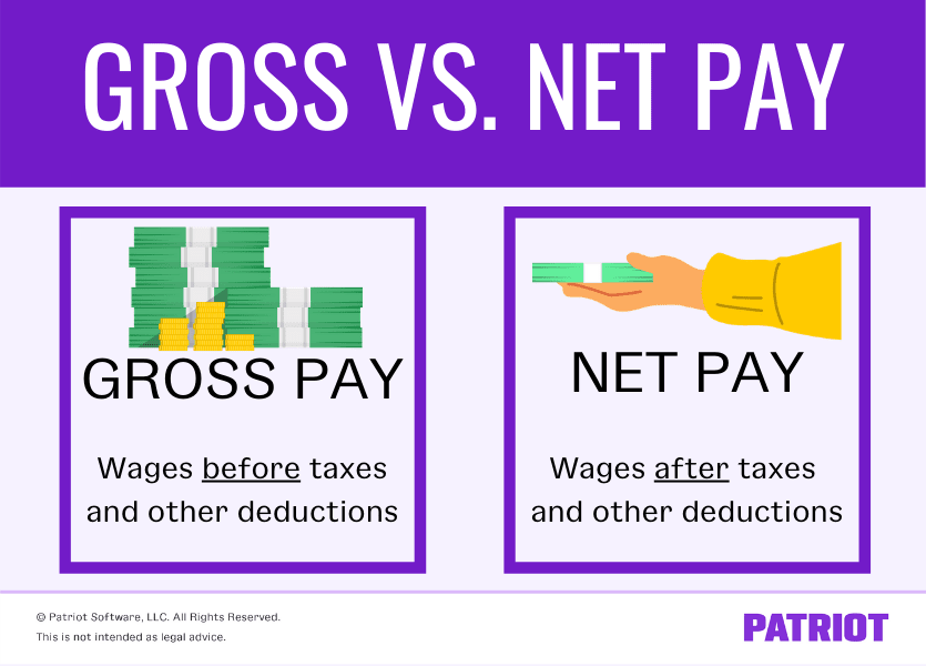 Gross vs. Net Pay: What's the Difference?