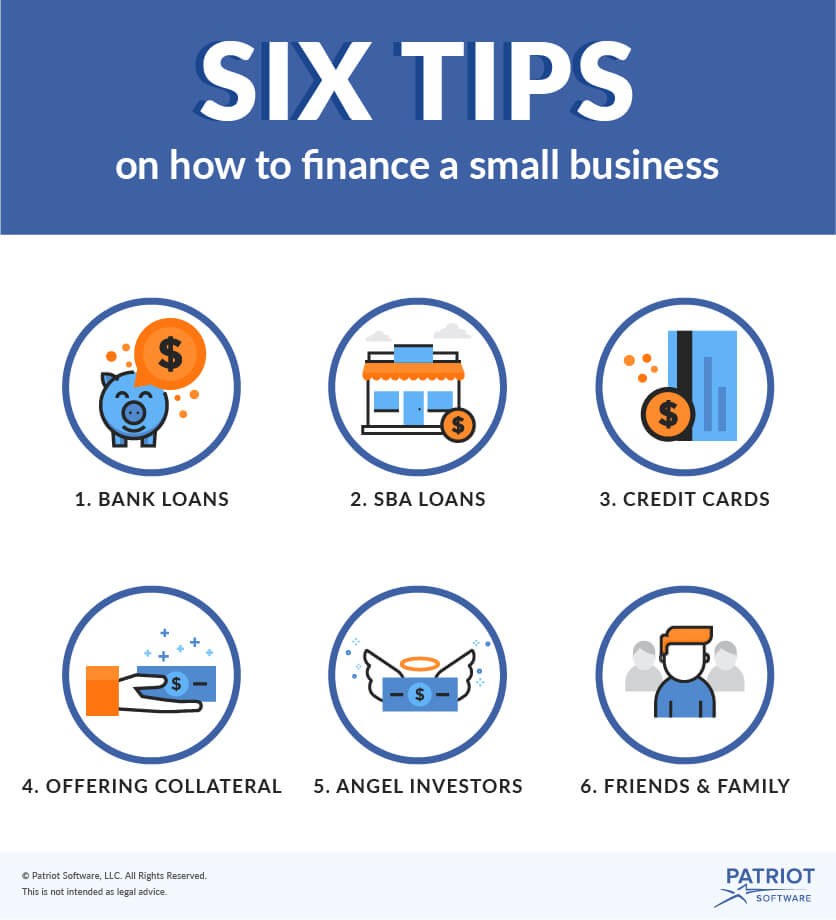 6 Tips on How to Finance a Small Business visual