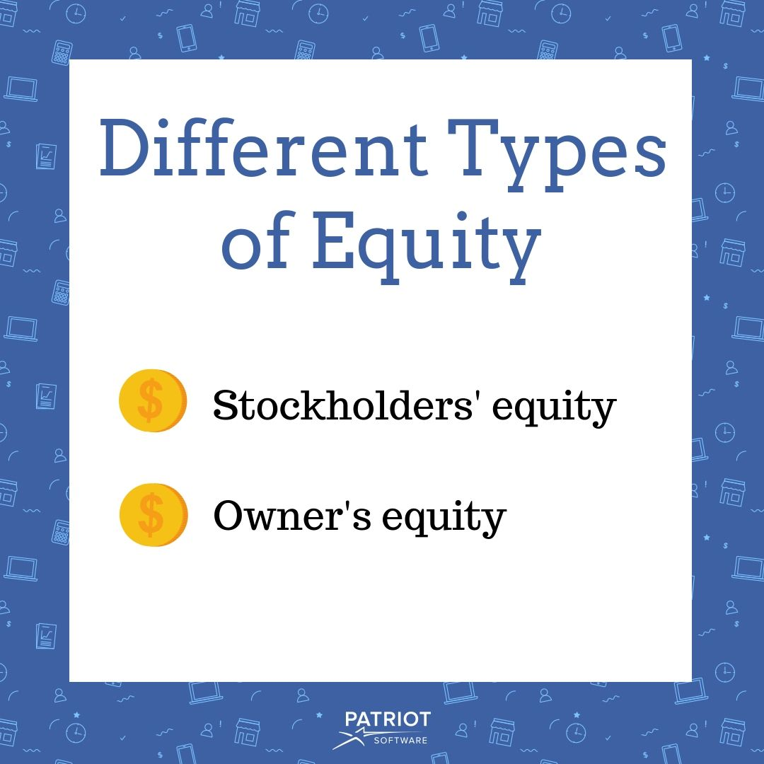 different types of equity