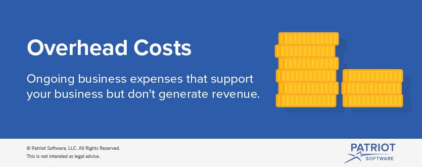 Overhead costs definition