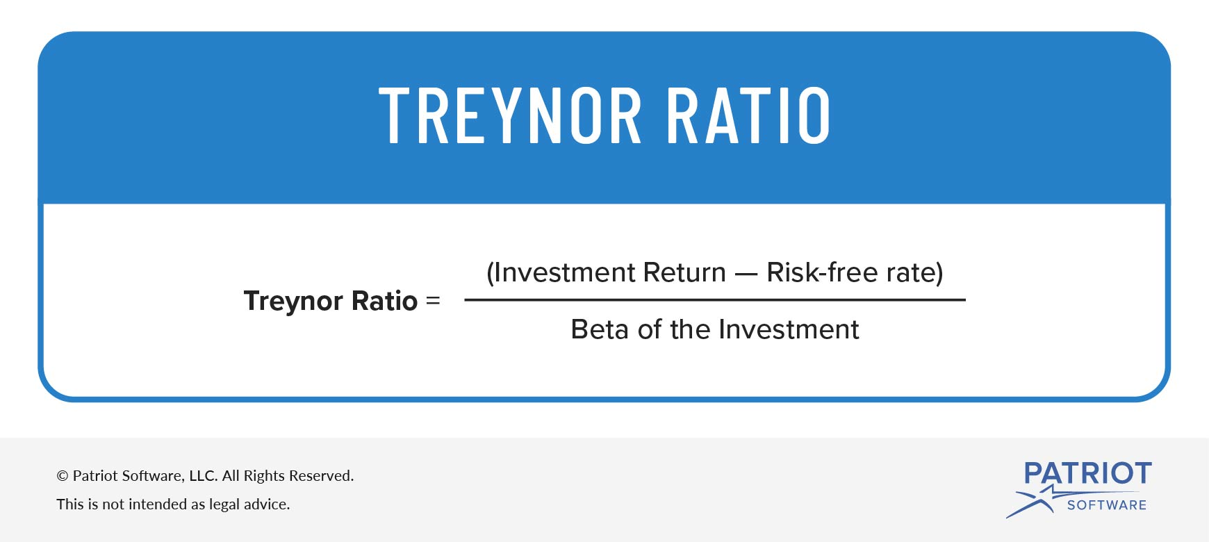 risk-adjusted return