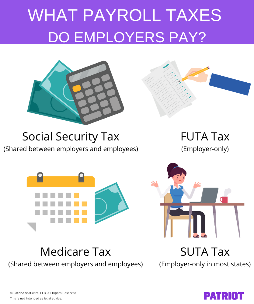 payroll taxes paid by employer