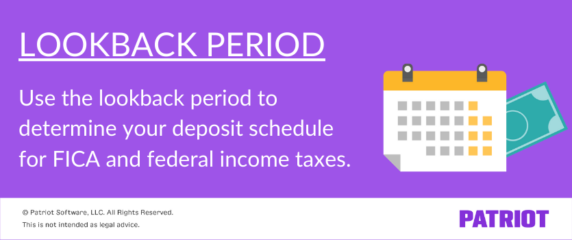 what is a lookback period definition