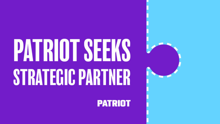 press release image about patriot software seeking strategic partner
