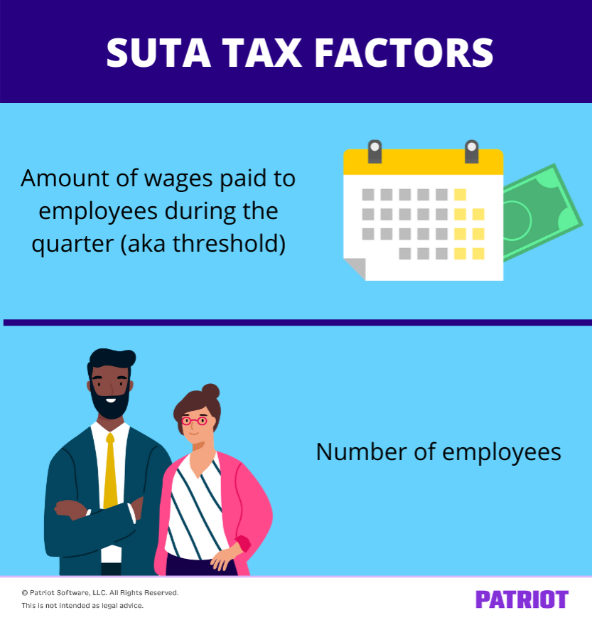 factors that can impact suta tax for employers