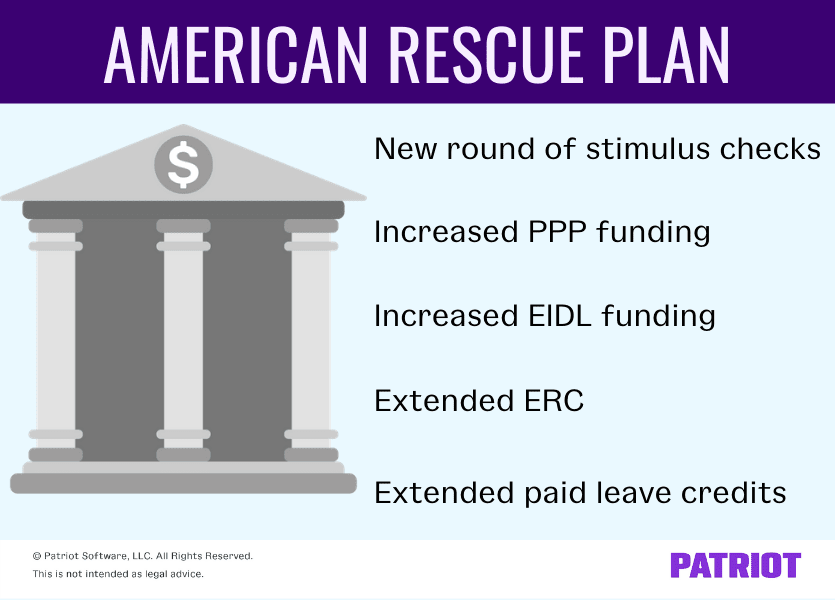 what is covered under the american rescue plan for small business owners
