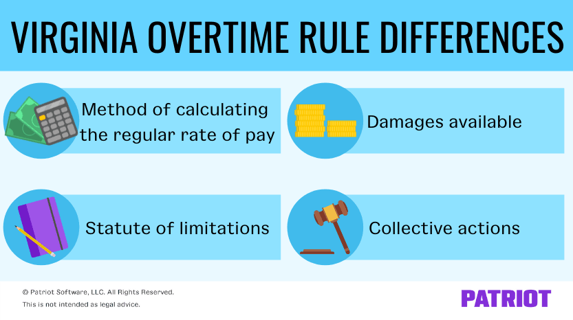 differences with the new virginia overtime rule