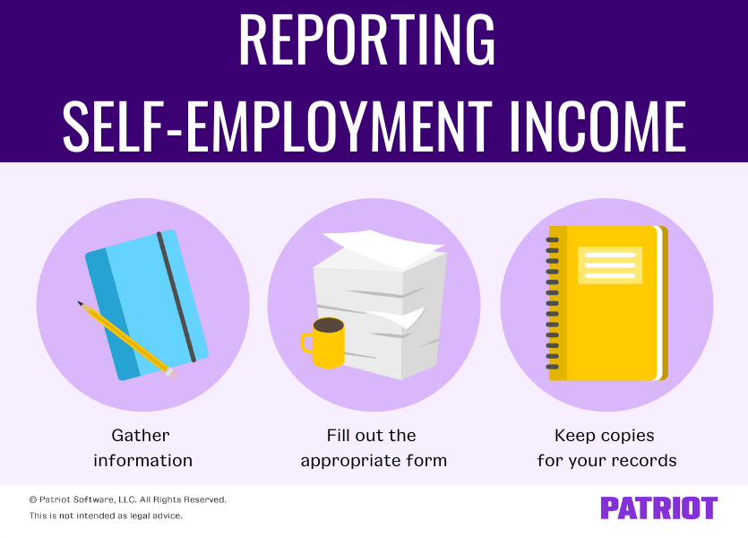 reporting self employment income